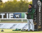 9 September 2017; Connacht head coach Kieran Keane prior to the Guinness PRO14 Round 2 match between Connacht and Southern Kings at The Sportsground in Galway. Photo by Seb Daly/Sportsfile
