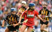 10 September 2017; Orla Cronin of Cork in action against Meighan Farrell of Kilkenny during the Liberty Insurance All-Ireland Senior Camogie Final match between Cork and Kilkenny at Croke Park in Dublin. Photo by Matt Browne/Sportsfile