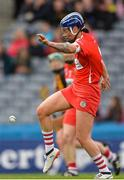 10 September 2017; Ashling Thompson of Cork kicks a clearance during the Liberty Insurance All-Ireland Senior Camogie Final match between Cork and Kilkenny at Croke Park in Dublin. Photo by Piaras Ó Mídheach/Sportsfile