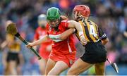 10 September 2017; Hannah Looney of Cork in action against Grace Walsh of Kilkenny during the Liberty Insurance All-Ireland Senior Camogie Final match between Cork and Kilkenny at Croke Park in Dublin. Photo by Piaras Ó Mídheach/Sportsfile