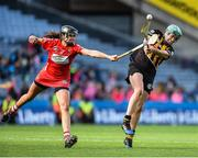 10 September 2017; Miriam Walsh of Kilkenny in action against Orla Cotter of Cork during the Liberty Insurance All-Ireland Senior Camogie Final match between Cork and Kilkenny at Croke Park in Dublin. Photo by Matt Browne/Sportsfile