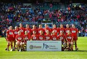 10 September 2017; The Cork squad after the Liberty Insurance All-Ireland Senior Camogie Camogie Final match between Cork and Kilkenny at Croke Park in Dublin.