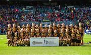 10 September 2017; The Kilkenny squad after the Liberty Insurance All-Ireland Senior Camogie Camogie Final match between Cork and Kilkenny at Croke Park in Dublin.