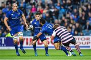 8 September 2017; Isa Nacewa of Leinster passes to team-mate Luke McGrath during the Guinness PRO14 Round 2 match between Leinster and Cardiff Blues at the RDS Arena in Dublin. Photo by Brendan Moran/Sportsfile