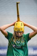 10 September 2017; Aoife Minogue of Meath after the Liberty Insurance All-Ireland Intermediate Camogie Championship Final match between Cork and Meath at Croke Park in Dublin. Photo by Matt Browne/Sportsfile
