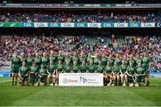 10 September 2017; Meath squad before the Liberty Insurance All-Ireland Intermediate Camogie Championship Final match between Cork and Meath at Croke Park in Dublin. Photo by Matt Browne/Sportsfile