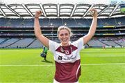 10 September 2017; Mairead McCormack of Westmeath celebrates after the Liberty Insurance All-Ireland Premier Junior Camogie Championship Final match between Dublin and Westmeath at Croke Park in Dublin. Photo by Matt Browne/Sportsfile