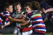 8 September 2017; Action from the Bank of Ireland Minis between North Kildare RFC and Bective RFC at the Guinness PRO14 Round 2 at the Guinness PRO14 Round 2 match between Leinster and Cardiff Blues at the RDS Arena in Dublin. Photo by David Fitzgerald/Sportsfile