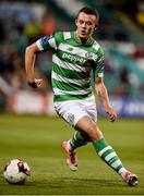 8 September 2017; Michael O'Connor of Shamrock Rovers during the Irish Daily Mail FAI Cup Quarter-Final match between Bluebell United and Shamrock Rovers at Tallaght Stadium in Tallaght, Dublin. Photo by Matt Browne/Sportsfile