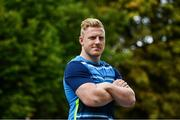 11 September 2017; Leinster's James Tracy poses for a portrait following a press conference at Leinster Rugby Headquarters in Dublin. Photo by Ramsey Cardy/Sportsfile
