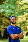 11 September 2017; Leinster's Jamison Gibson-Park poses for a portrait following a press conference at Leinster Rugby Headquarters in Dublin. Photo by Ramsey Cardy/Sportsfile