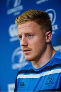 11 September 2017; Leinster's James Tracy during a press conference at Leinster Rugby Headquarters in Dublin. Photo by Ramsey Cardy/Sportsfile