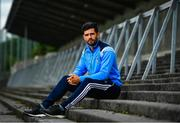 11 September 2017; Cian O'Sullivan of Dublin poses for a portrait following a press conference in Parnell Park ahead of their GAA Football All-Ireland Senior Championship Final against Mayo. Photo by Ramsey Cardy/Sportsfile