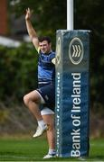 11 September 2017; Leinster's Robbie Henshaw during squad training at UCD in Dublin. Photo by Ramsey Cardy/Sportsfile