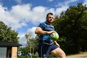 11 September 2017; Leinster's Cian Healy during squad training at UCD in Dublin. Photo by Ramsey Cardy/Sportsfile