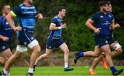 11 September 2017; Leinster's Jonathan Sexton during squad training at UCD in Dublin. Photo by Ramsey Cardy/Sportsfile