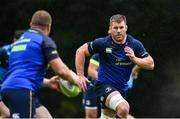 11 September 2017; Leinster's Sean O'Brien during squad training at UCD in Dublin. Photo by Ramsey Cardy/Sportsfile