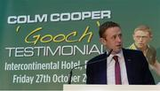 12 September 2017; Former Kerry footballer Colm Cooper in attendance at the Colm Cooper Testimonial Dinner launch at Zurich Insurance in Ballsbridge, Dublin. Photo by Piaras Ó Mídheach/Sportsfile