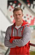 12 September 2017; Ulster assistant coach Dwayne Peel during a press conference at Kingspan Stadium in Belfast. Photo by Oliver McVeigh/Sportsfile