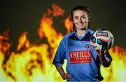 13 September 2017; Dearaibhle Beirne of UCD in attendance during the Rustlers FAI Colleges and Universities launch at the FAI HQ in Abbotstown, Dublin. Photo by Cody Glenn/Sportsfile