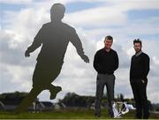 13 September 2017; Dundalk manager Stephen Kenny, left, and Shamrock Rovers manager Stephen Bradley in attendance at a media conference in advance of the EA SPORTS Cup Final at the FAI HQ in Abbotstown, Dublin. Photo by Stephen McCarthy/Sportsfile