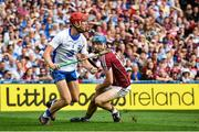 3 September 2017; Tadhg de Búrca of Waterford in action against Conor Cooney of Galway during the GAA Hurling All-Ireland Senior Championship Final match between Galway and Waterford at Croke Park in Dublin. Photo by Sam Barnes/Sportsfile