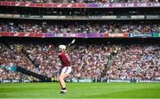 3 September 2017; Joe Canning of Galway takes a free during the GAA Hurling All-Ireland Senior Championship Final match between Galway and Waterford at Croke Park in Dublin. Photo by Sam Barnes/Sportsfile