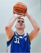 15 September 2017; Colin O'Reilly of UCC Demons during the Basketball Ireland Men's Super League match between UCC Demons and Garvey's Tralee Warriors at Mardyke Arena in Cork. Photo by Brendan Moran/Sportsfile