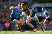17 September 2017; Keith Higgins of Mayo in action against Con O'Callaghan of Dublin during the GAA Football All-Ireland Senior Championship Final match between Dublin and Mayo at Croke Park in Dublin. Photo by Eóin Noonan/Sportsfile