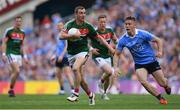 17 September 2017; Colm Boyle of Mayo in action against Con O'Callaghan of Dublin during the GAA Football All-Ireland Senior Championship Final match between Dublin and Mayo at Croke Park in Dublin. Photo by Brendan Moran/Sportsfile