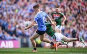 17 September 2017; Con O'Callaghan of Dublin escapes Colm Boyle of Mayo during the GAA Football All-Ireland Senior Championship Final match between Dublin and Mayo at Croke Park in Dublin. Photo by Stephen McCarthy/Sportsfile