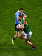17 September 2017; Aidan O'Shea of Mayo in action against Jack McCaffrey of Dublin during the GAA Football All-Ireland Senior Championship Final match between Dublin and Mayo at Croke Park in Dublin. Photo by Daire Brennan/Sportsfile