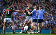 17 September 2017; Donal Vaughan of Mayo tackles John Small of Dublin resulting in a red card for both players during the GAA Football All-Ireland Senior Championship Final match between Dublin and Mayo at Croke Park in Dublin. Photo by Eóin Noonan/Sportsfile