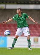 16 June 2012; Aine O'Gorman, Republic of Ireland. Women's European Championship Qualifier, Republic of Ireland v Wales, Turner's Cross, Cork. Picture credit: Diarmuid Greene / SPORTSFILE