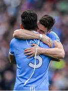 17 September 2017; Diarmuid Connolly, right, and Cian O'Sullivan of Dublin celebrate following the GAA Football All-Ireland Senior Championship Final match between Dublin and Mayo at Croke Park in Dublin. Photo by Sam Barnes/Sportsfile