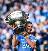 17 September 2017; Paul Mannion of Dublin with the Sam Maguire cup following his side's victory during the GAA Football All-Ireland Senior Championship Final match between Dublin and Mayo at Croke Park in Dublin. Photo by Seb Daly/Sportsfile