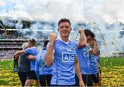 17 September 2017; Dublin's Paul Flynn celebrates following the GAA Football All-Ireland Senior Championship Final match between Dublin and Mayo at Croke Park in Dublin. Photo by Ramsey Cardy/Sportsfile