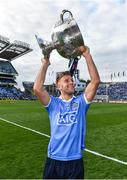 17 September 2017; Dublin's Jonny Cooper celebrates following the GAA Football All-Ireland Senior Championship Final match between Dublin and Mayo at Croke Park in Dublin. Photo by Ramsey Cardy/Sportsfile