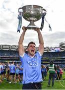 17 September 2017; Dublin's Bernard Brogan celebrates following the GAA Football All-Ireland Senior Championship Final match between Dublin and Mayo at Croke Park in Dublin. Photo by Ramsey Cardy/Sportsfile