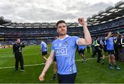 7 September 2017; Dublin's Paddy Andrews celebrates following the GAA Football All-Ireland Senior Championship Final match between Dublin and Mayo at Croke Park in Dublin. Photo by Ramsey Cardy/Sportsfile