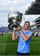 17 September 2017; Dublin's Paul Mannion celebrates following the GAA Football All-Ireland Senior Championship Final match between Dublin and Mayo at Croke Park in Dublin. Photo by Ramsey Cardy/Sportsfile