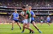 17 September 2017; Jason Doherty of Mayo in action against Jonny Cooper of Dublin during the GAA Football All-Ireland Senior Championship Final match between Dublin and Mayo at Croke Park in Dublin. Photo by Sam Barnes/Sportsfile