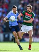 17 September 2017; James McCarthy of Dublin in action against Tom Parsons of Mayo during the GAA Football All-Ireland Senior Championship Final match between Dublin and Mayo at Croke Park in Dublin. Photo by Sam Barnes/Sportsfile