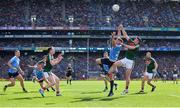 17 September 2017; Paul Flynn of Dublin in action against Brendan Harrison of Mayo during the GAA Football All-Ireland Senior Championship Final match between Dublin and Mayo at Croke Park in Dublin. Photo by Sam Barnes/Sportsfile