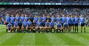 17 September 2017; The Dublin squad before the GAA Football All-Ireland Senior Championship Final match between Dublin and Mayo at Croke Park in Dublin. Photo by Ray McManus/Sportsfile
