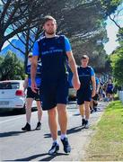 18 September 2017; Ross Byrne and Luke McGrath, right, arrive for Leinster Rugby Squad Training at Bishops in Cape Town, South Africa. Photo by Grant Pritcher/Sportsfile