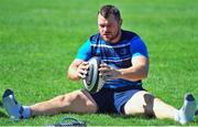 18 September 2017; Cian Healy during Leinster Rugby Squad Training at Bishops in Cape Town, South Africa. Photo by Grant Pritcher/Sportsfile