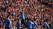 17 September 2017; Aidan O'Shea of Mayo in action against Brian Fenton of Dublin during the GAA Football All-Ireland Senior Championship Final match between Dublin and Mayo at Croke Park in Dublin. Photo by Stephen McCarthy/Sportsfile