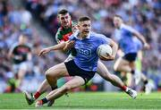 17 September 2017; Con O'Callaghan of Dublin is tackled by Brendan Harrison of Mayo during the GAA Football All-Ireland Senior Championship Final match between Dublin and Mayo at Croke Park in Dublin. Photo by Ramsey Cardy/Sportsfile