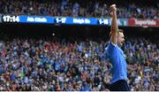 17 September 2017; Dean Rock of Dublin celebrates at the final whistle of the GAA Football All-Ireland Senior Championship Final match between Dublin and Mayo at Croke Park in Dublin. Photo by Ramsey Cardy/Sportsfile